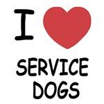 I heart service dogs