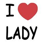 I heart lady