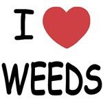 I heart weeds