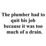 plumber quit