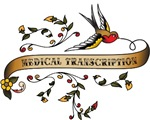 Medical Transcription Scroll