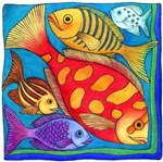 fish of many colors