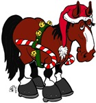 Don't Ask Christmas Horse