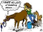 Veterinarian & Horse