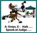 Dressage Horse Spook