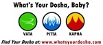 What's Your Dosha, Baby? Logos