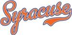 Syracuse Script Font Orange
