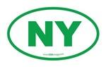 New York NY Euro Oval GREEN