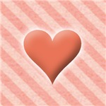 Valentines Day Hearts Pink