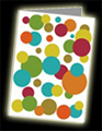 'Retro Dots' Greeting Card featured here.