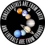 Earth vs Uranus