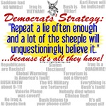 Democrat Tissue of Lies
