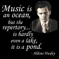 Huxley on Music and Water