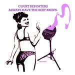 court reporters have the best briefs.