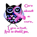 give a hoot about cancer