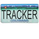 Colorado Tracker Plate