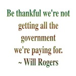 Will Rogers Government Quote