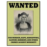 Columbus Wanted Poster