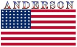 Anderson USA United States American Flag