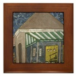 New Orleans Art on  Framed Tiles