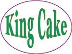 King Cake Oval