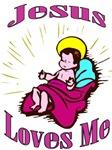 Jesus Loves Me Kids Clothes