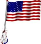 American Lacrosse Flag