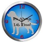 LAB TIME Wall Clocks