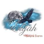 Team Elijah The Vampire Diaries Raven Moon Blue Cl