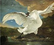 Asselijn's The Threatened Swan