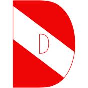 Scuba Flag Letter D