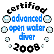 Certified AOW Diver 2008