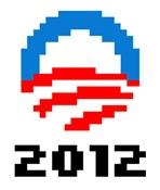 Obama 2012 Pixel Logo