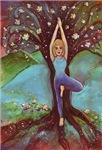 Vriksasana, the Tree Pose