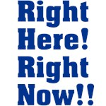 Right Here! Right Now!!: Navy