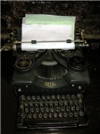 Vintage type writer T shirts and clothing