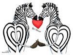 Zebra Valentine