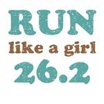 Run like a girl 26.2