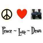 Peace - Love - Dean