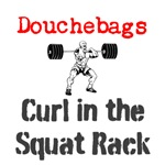 Curl in the Squat Rack
