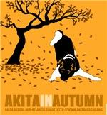 Akita in Autumn