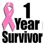 1 Year Breast Cancer Survivor Design 1