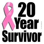 20 Year Breast Cancer Survivor Design 1
