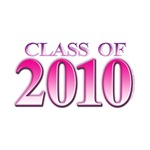 Class of 2010 Pink T-shirts and gifts