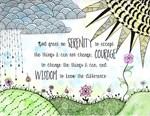 Serenity Prayer Watercolor
