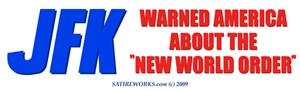 JFK's Warning of NWO