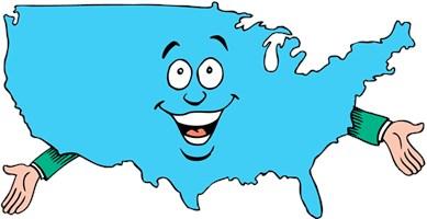 States & Countries Shirts