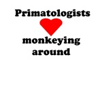 Primatologists monkeying around