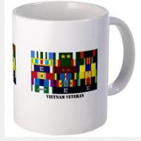 Custom Military Ribbon Mugs