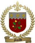 MIVILLE Family Crest